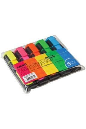 Noki Fosforlu Kalem 5 Renk Set 0