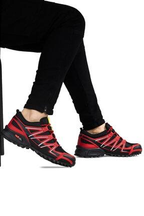 Ayakkabix Erkek Kırmızı Ferrani Günlük Spor Ayakkabı 1