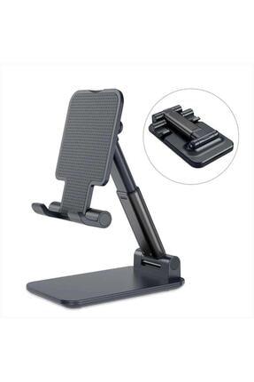 CMT Masa Üstü Telefon Tutucu Stant Masaüstü Tablet Tutacak Şarj Stand 0