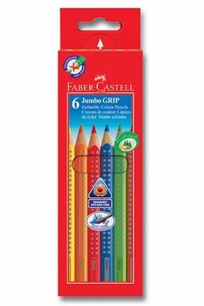 Faber Castell 6 Renk Jumbo Grip Kuru Boya 0
