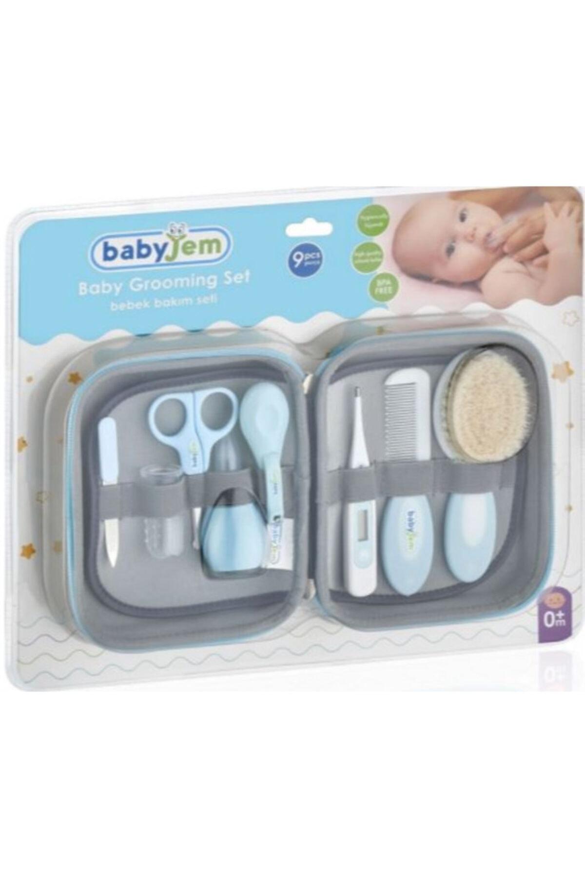 Mavi Bebek Bakım Seti 9 Parça