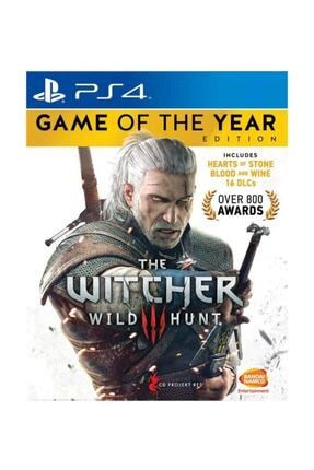 Wb Games The Witcher 3: Wild Hunt - Game Of The Year Edition Ps4 Oyun 0
