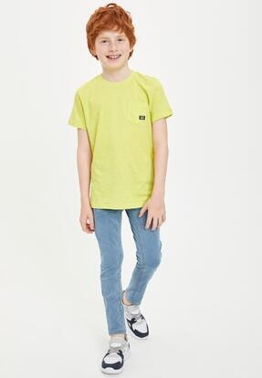 Erkek Çocuk Mavi Kot Pantolon M9886A620SPNM39