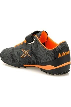 Kinetix Erkek Çocuk Siyah Agron J Camo Turf Halı Saha Ayakkabısı 2