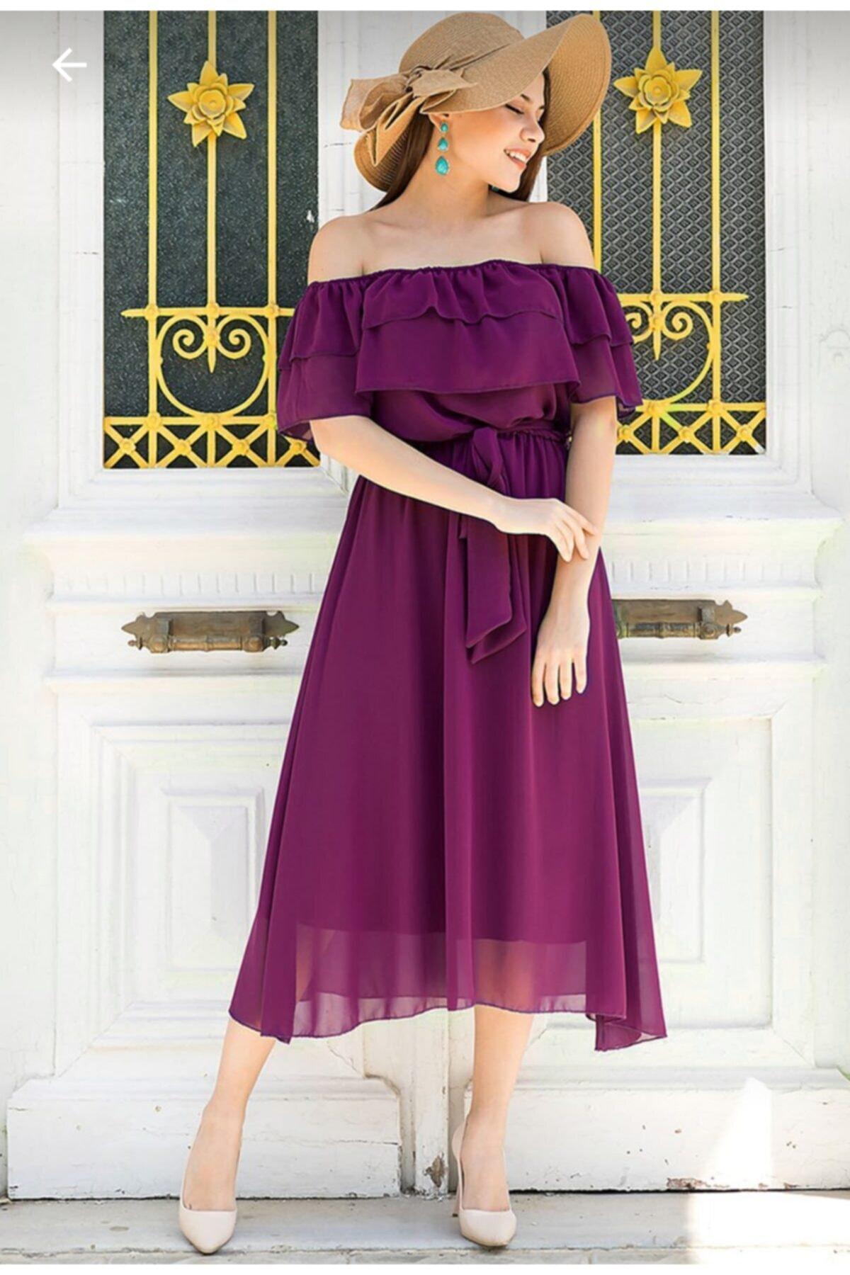 Carmen Yaka, Şifon, Elbise