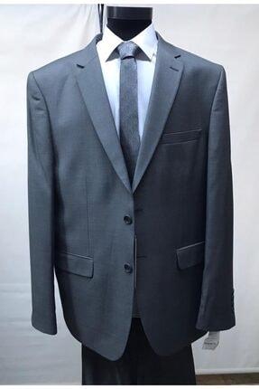 Erkek Gri Büyük Beden Takım Elbise ZERMON1