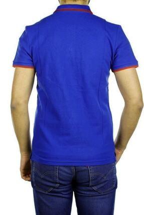 Cazador Erkek Civit Mavisi Polo Yaka T-shirt 1