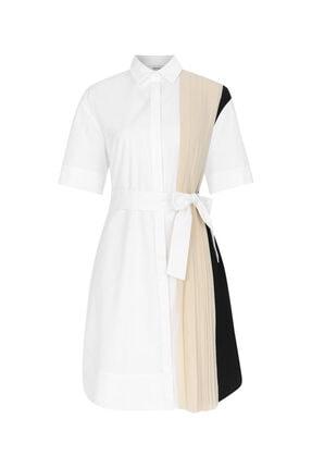 İpekyol Pilise Mixli Koton Elbise 3