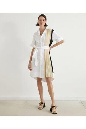 İpekyol Pilise Mixli Koton Elbise 4