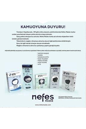 Nfes maske Nefes N95 Maske 1 Kutu 10 Adet 2