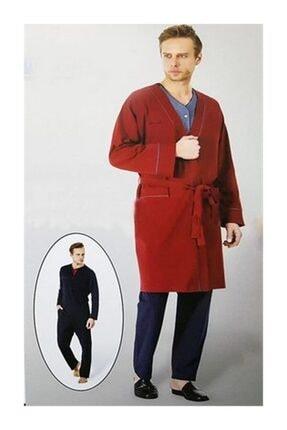 Picture of 5545 Bordo Erkek Damat Çeyiz Pijama Roböşambr Takım