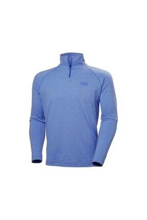Picture of Erkek Royal Blue Verglas Sweatshirt 1/2 Zip