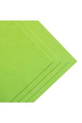 toptankece Kalın Keçe 50x50 Cm Yeşil Tonlar 3 Renk 3