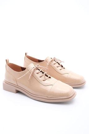 Marjin Kadın Oxford Ayakkabı Atekbej Rugan 0