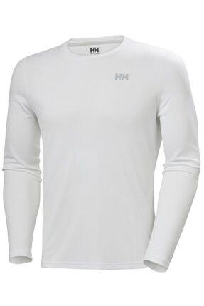 Picture of Erkek Beyaz Lifa Active Solen  Likra Spor T-Shirt