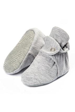 Ella Bonna Organik Pamuk Bebek Patiği, Kaydırmaz Taban, Pamuklu Yenidoğan Pandufu Ev Kreş Ayakkabısı 0