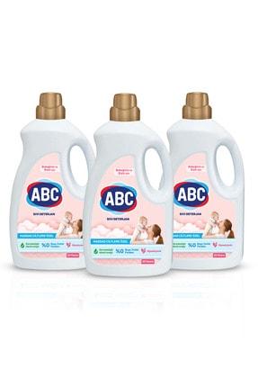 ABC Bebeklere Hassas Ciltlere Özel Sıvı Çamaşır Deterjanı 1.5ltx3 Adet 1