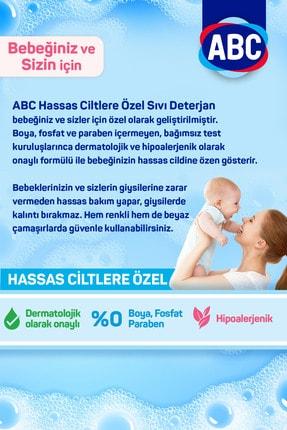 ABC Bebeklere Hassas Ciltlere Özel Sıvı Çamaşır Deterjanı 1.5ltx3 Adet 2