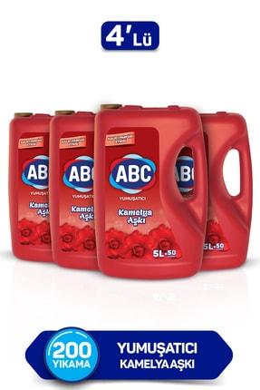 ABC Yumuşatıcı Kamelya Aşkı 5 Lt 4'lü Set 0