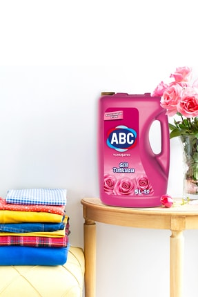 ABC Sıvı Çamaşır Yumuşatıcı Deterjan Gül Tutkusu 5 litre x 4 Adet 3