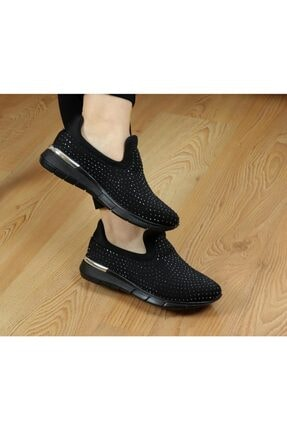 Ayakkabı Vakti W304 Taşlı Yazlık Günlük Kadın Spor Ayakkabı 0