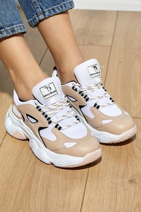 Tonny Black Kadın Spor Ayakkabı Nude Tb288 2