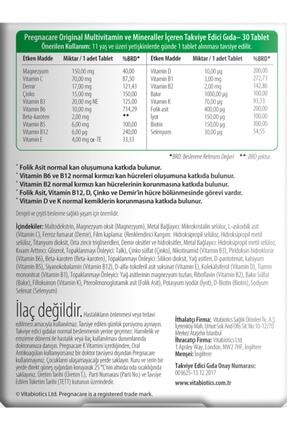 Pregnacare Pregnacare  30 Tablet 1