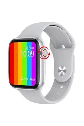 Palmira Aksesuar Iphone Ve Android Uyumlu Watch 6 Plus Son Nesil Siyah Yan Düğme Ileri Geri Ve Yakınlaştırma Aktif 0