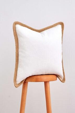 Cozy & Soft Hasır Kenarlı Kırlent Kılıfı 1