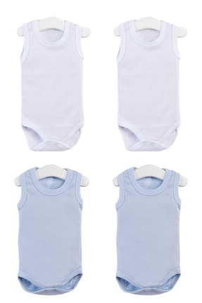 Pattaya Kids Erkek Bebek Çıtçıtlı Kolsuz Body 0-36 Ay Ptk20s-402 0