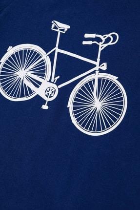 Defacto Erkek Çocuk Bisiklet Basklı Pijama Takımı 3