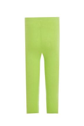 Defacto Kız Çocuk Yeşil Slim Fit Kapri Boy Tayt 1