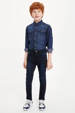 Defacto Erkek Çocuk Çivit Mavisi Kot Jeans 0