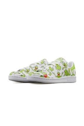 adidas Erkek Yeşil Stan Smith  Günlük Ayakkabı Fz2707 2