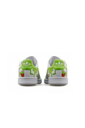 adidas Erkek Yeşil Stan Smith  Günlük Ayakkabı Fz2707 3