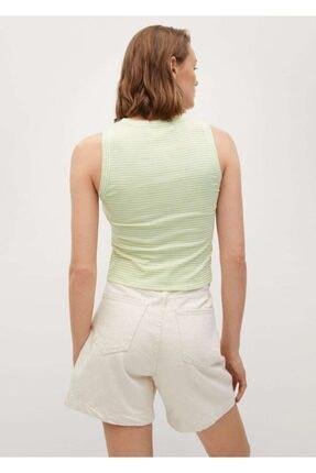 Mango Geri Dönüştürülmüş Polyesterli  Bluz 3