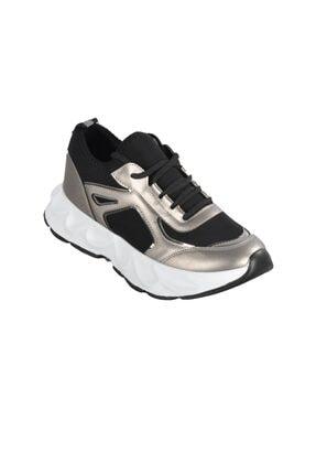 Kadın Altın Spor Ayakkabı s_P-0000000011411PLT