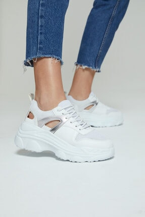 Derimod Kadın Yüksek Tabanlı Sneaker 0