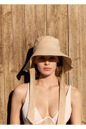 Mango Bantlı Bucket Şapka 1