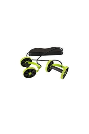 FITNESS Revoflex Multiflex Tekerlekli Egzersiz Spor Aleti Mekik Sehpası 0