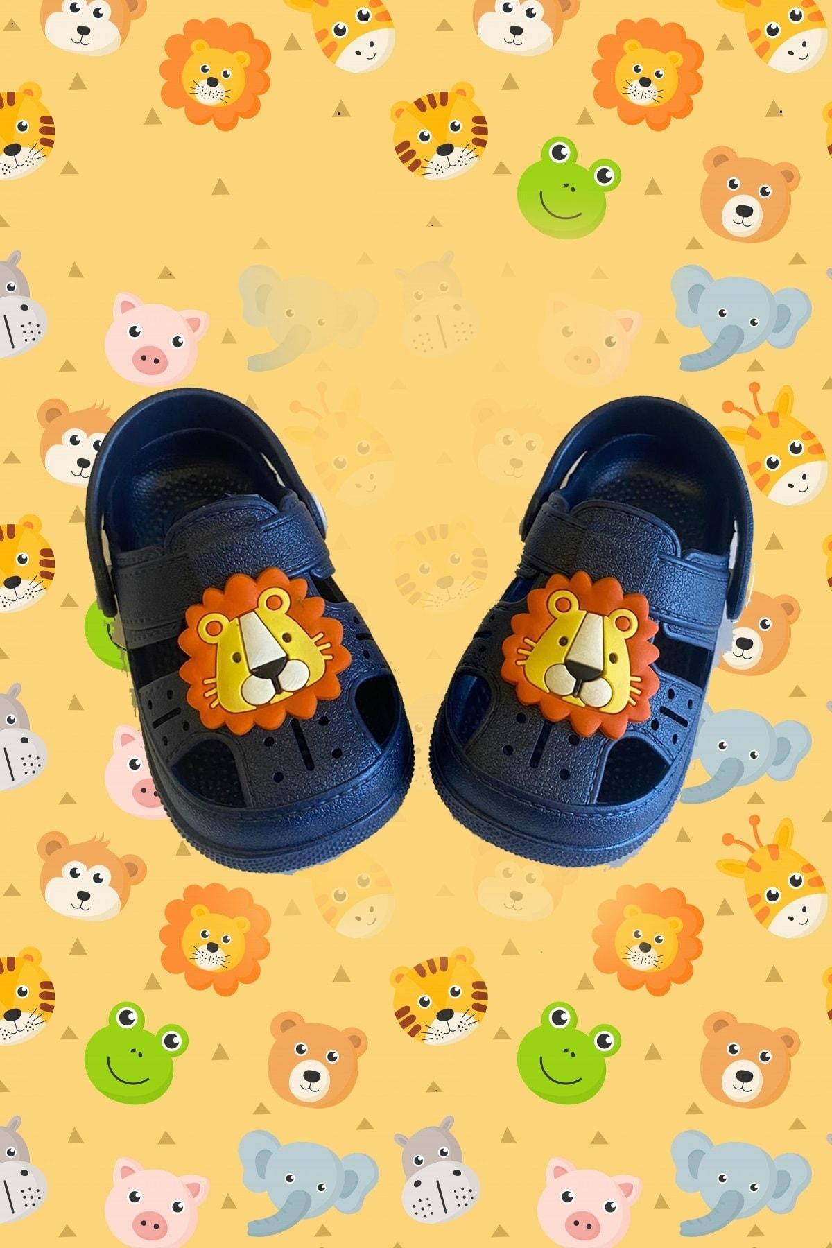 Çocuk Happy Lion Kids Sandalet Bilekli Terlik
