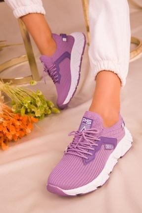 Soho Exclusive Lila Kadın Sneaker 15772 1