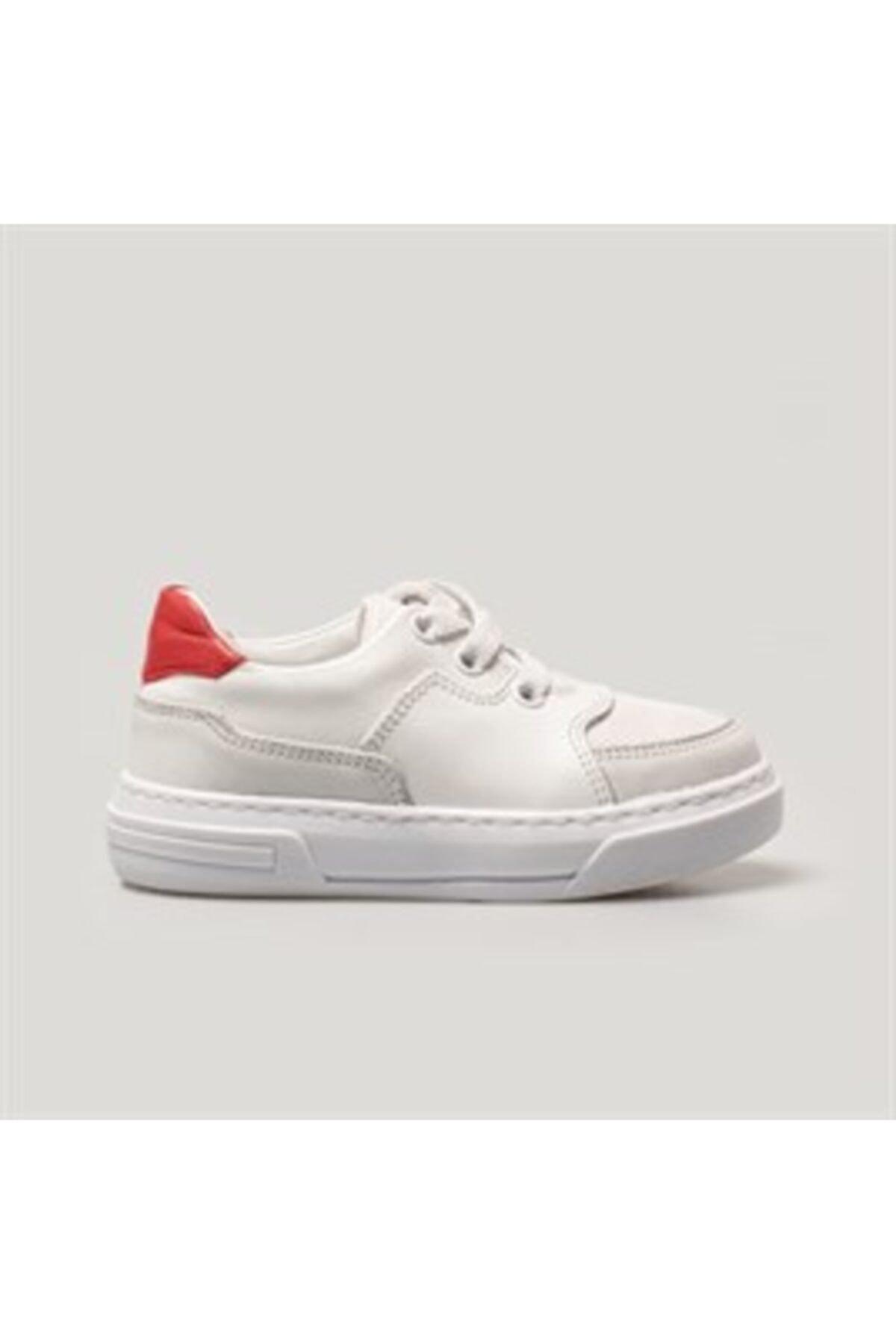 Merli&Rose Roam Sneaker | Beyaz - Kırmızı