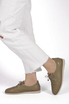 Marjin Kadın Hakiki Deri Comfort Ayakkabı Demashaki 4