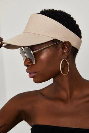 Xena Kadın Krem Tenis Şapkası 1YZK9-11830-22 0