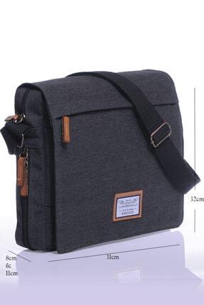 Sword Bag Siyah Kanvas Unısex Laptop &evrak Çantası Sw700 0