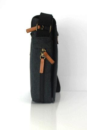 Sword Bag Siyah Kanvas Unısex Laptop &evrak Çantası Sw700 4
