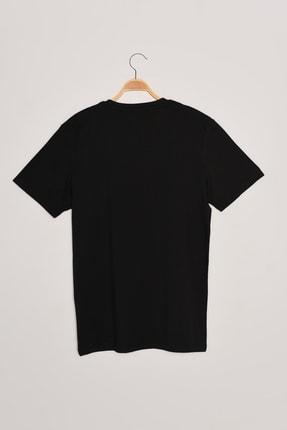 Jack & Jones JORBRIANS TEE SS CREW NEC Siyah Erkek T-Shirt 101069357 1
