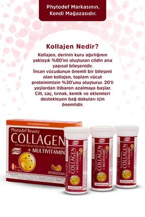 Phytodef Collagen + Multivitamin - 30 Efervesan Tablet (kavun Ve Muz Aromalı) 1