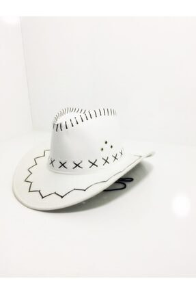 Kovboy Şapka Fötr Şapka Yazlık Şapka ŞPK5